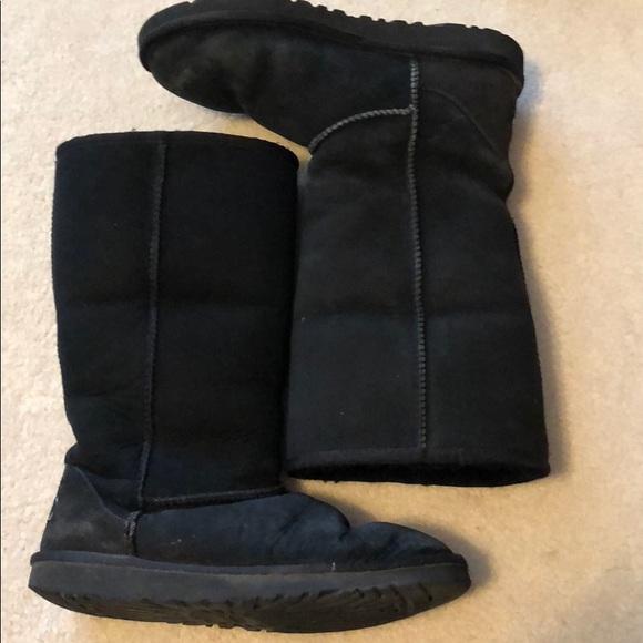 UGG Shoes | Tall Black Ugg Boots | Poshmark